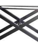 Nowoczesny stolik kawowy model odwrotny rama stalowa spawana malowana proszkowo - stolik na wymiar